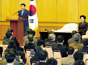 노무현 정권 '친위대' 막후 파워게임