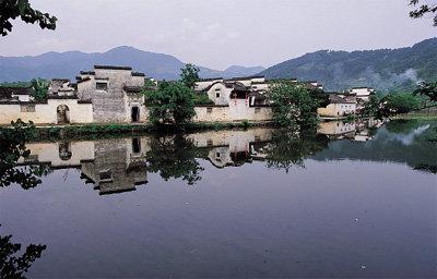 '와호장룡'과 '국두'의 고향 훙춘(宏村)·시디(西遞)
