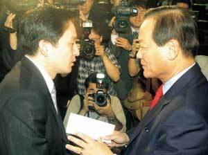 '인적 청산' 태풍 한나라당