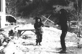 눈 오는 날엔 김장배추 꺼내고, 눈 녹은 날엔 광대나물 무치고