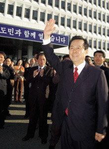 영남 광역단체장들이 '동남풍 진원지'