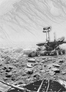 '문어 화성인' 자취 쫓는 NASA의 화성탐사