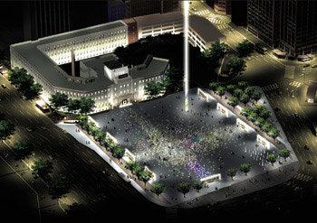 상상력 빈곤, 정치적 야심에 사라진  '빛의 광장'