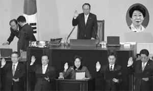 17일짜리 국회의원 탄생…한국정치사의 '블랙 코미디'