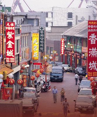 '한국풍  중국' 인천 차이나타운