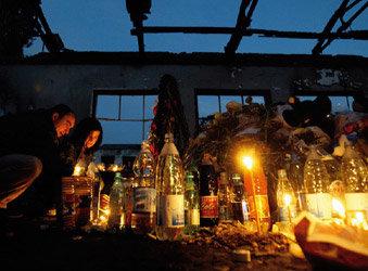 '러시아판 9·11'이 할퀴고 간  비탄의 도시 베슬란
