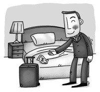 복장, 욕실 예절은 호텔 매너의 기본