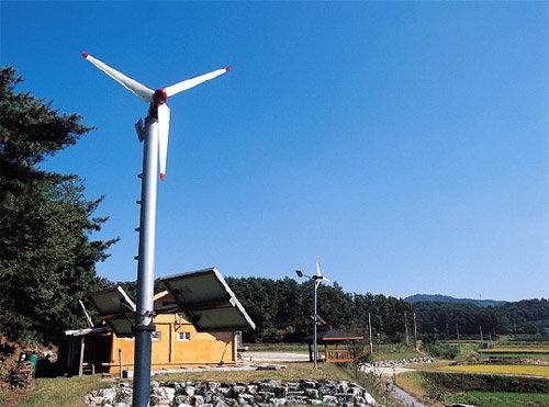 청정마을의 '에너지 혁명'