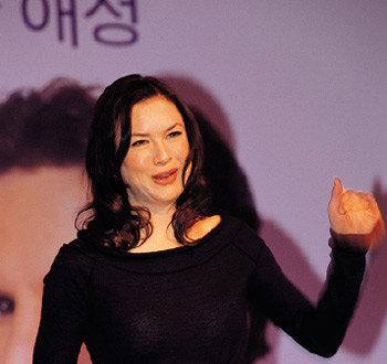 한국 찾은 할리우드 톱스타 르네 젤위거