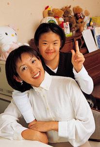 '여의도 말아톤'  다운증후군 딸 키우는 나경원  의원