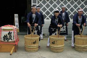 일본 '사이조 술 축제' 속으로