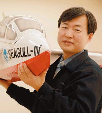 '하늘 나는 배' 위그선 개발 주역 한국해양연구원 해양시스템안전연구소장 강창구