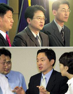 '좌충우돌, 王변덕', 한나라당 소장파들의 속살