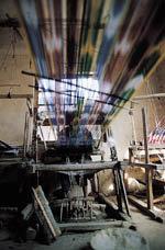 세계에서 유일한 手製비단 생산지