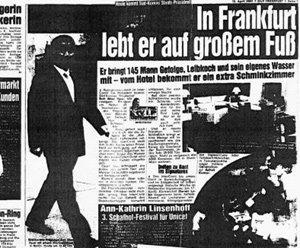독일 3류 신문 오역, '킬러' 전여옥의  '오인 사격'