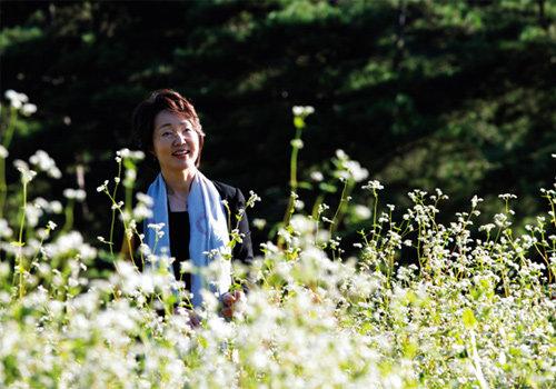 메밀꽃 여린 감성으로  북녘 언 가슴 녹이리