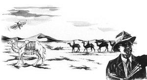 실크로드에 묻힌 조선족 화가 한낙연