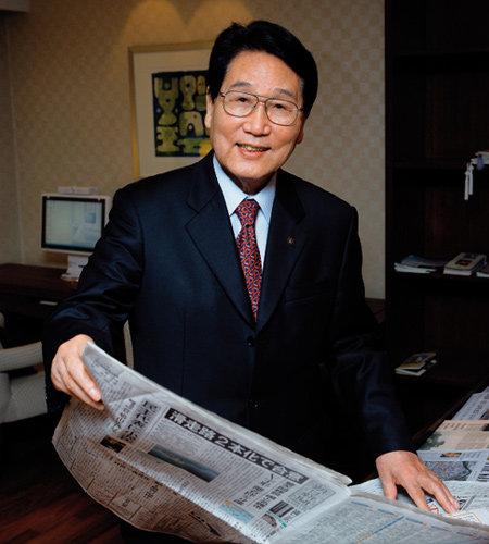 재일본 대한민국민단 신임 단장 하병옥