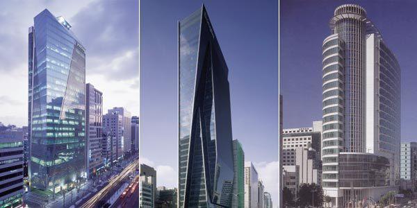 세계 양대 건축사의 강남 마천루 설계전쟁