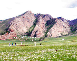 몽골 칭기즈칸 골프장