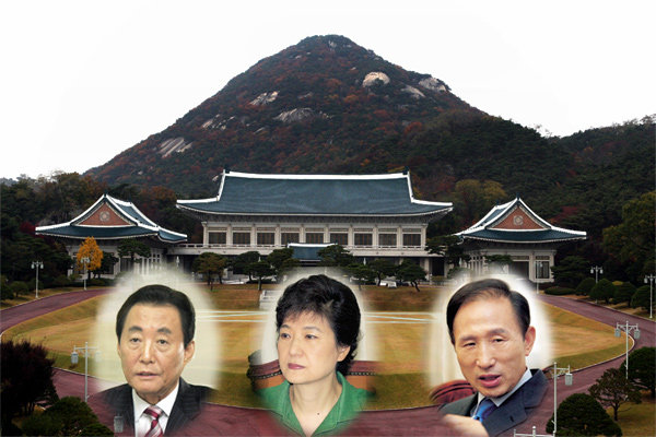 풍수전문가 김두규 교수의 '대선주자 빅3' 생가·선영 답사기