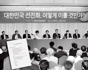 한나라당 '정권 창출·유지 전략'문건