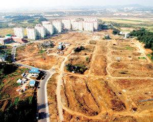 '만만디 토지수용'에 신도시 분양가 폭등