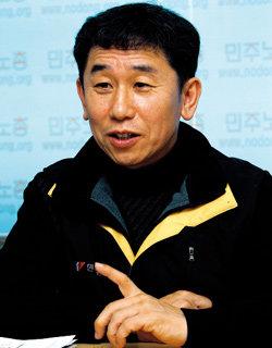 민주노총 새 위원장 이석행