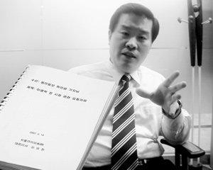 '이명박  리포트' 김유찬 폭탄 발언