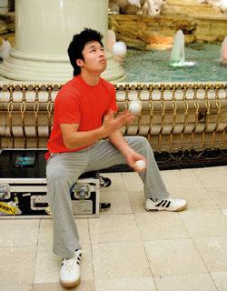 환경지킴이 나선 세계 저글링 챔피언 김창행