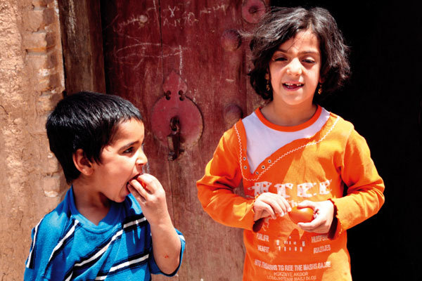 '천국의 아이들'이 뛰노는 이란 테헤란