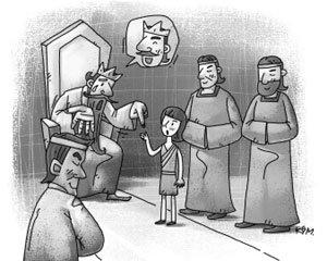 다윗왕의 교훈-천하의 '영계'도 세월은 잡지 못한다!