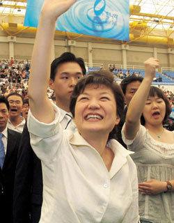 박근혜 전담 기자의 '박근혜 경선 1년' 밀착 취재기