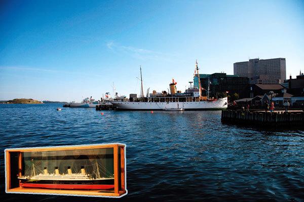 '타이타닉'의 무대 캐나다 핼리팩스