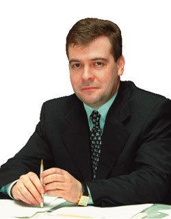 러시아 차기 대통령 드미트리 메드베데프
