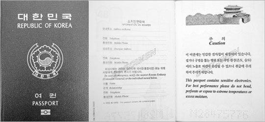 전자여권과 인권침해