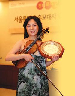 소니BMG에서 독집 음반 낸 바이올리니스트 김민진