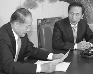 '인사전횡' 폭로한 정두언도 인사개입 의혹