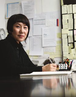 SOLID  HOMME 우 영 미 디자이너 & 대표