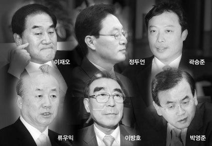 'MB맨'이재오·정두언·곽승준·박영준·류우익·이방호 심경토로