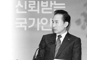 집권 2년차 이명박 정부 리더십