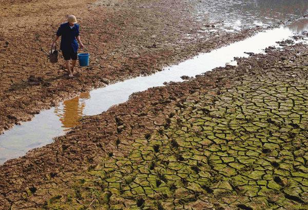 대가뭄, 중국을 덮치다