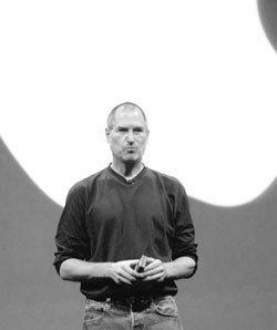 애플 CEO 스티브 잡스