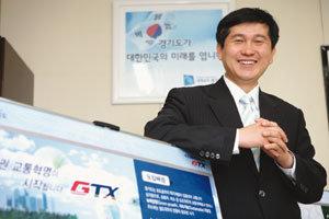 'GTX(수도권 광역급행철도) 전도사'로 나선 경기도 대변인 허숭