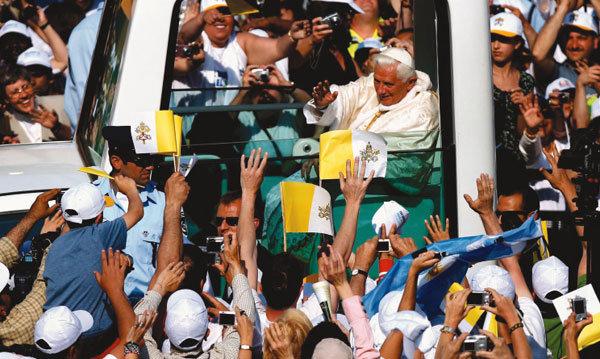 예루살렘 찾은 교황