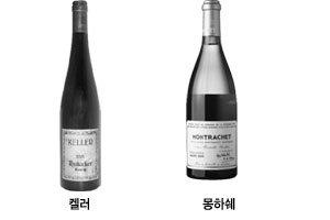 드라이 화이트 와인 몽하쉐 vs 켈러
