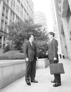 국내 보험영업 정상에 선 이근우, 한광수 씨 인터뷰