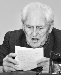 학살사건 후 65년, 91세 나치 전범에 종신형 선고