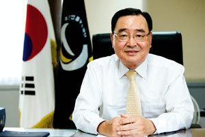 '2009 법률구조 국제 심포지엄'개최하는   대한법률구조공단 이사장 정홍원