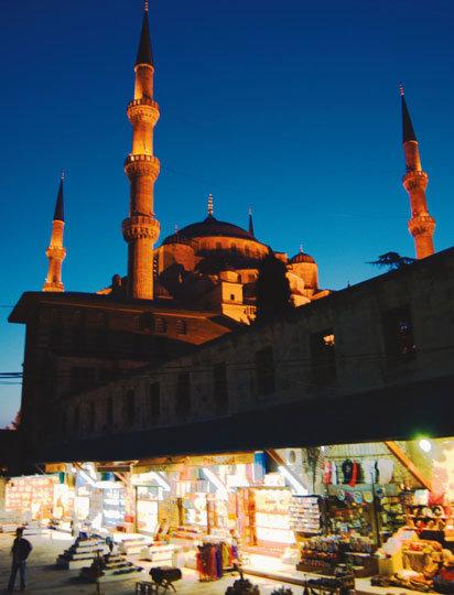 실크로드가 만든 마법의 램프 터키 이스탄불 '바·자·르'